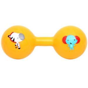 费雪(Fisher-Price) 球儿童皮球婴儿手抓球拍拍球幼儿园哑铃球F090112.9元