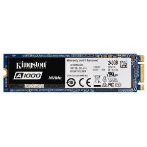 Kingston 金士顿 A1000 M.2 NVMe 固态硬盘 240GB349元