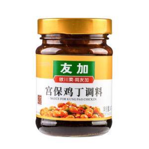 友加食品(YOU JIA)宫爆鸡丁调料 烹饪川菜炒菜料228g *6件86.04元(合14.34元/件)