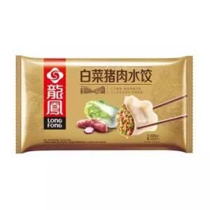 龙凤 白菜猪肉水饺 690g(约40只 早餐 火锅食材 烧烤 饺子) *10件99元(合9.9元/件)