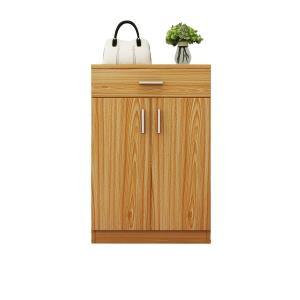 五格 简易多功能组装对开门玄关柜简约现代门厅柜白色进门高大木鞋柜  券后135.88元