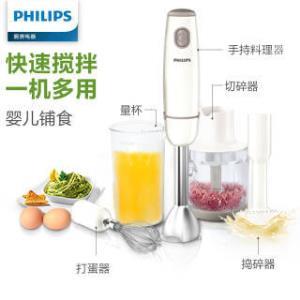 飞利浦(PHILIPS) HR1608/03 手持式榨汁机 179元