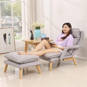 贵人家源 北欧懒人沙发单人卧室椅子个性创意阳台休闲躺椅588元