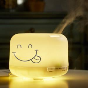 意尔�� 香薰机精油加湿器500ML暖光款128.9元