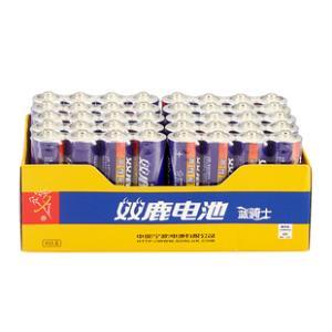 双鹿 碳性电池5号40节一盒 券后¥16.9