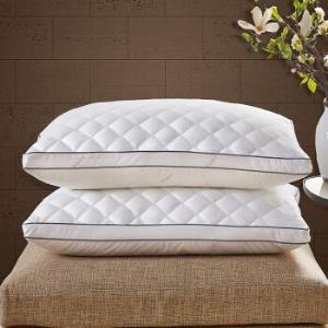 MIDO HOUSE 铭都家纺 羽丝绒枕芯 中枕 送60支枕套一对 *2件133.5元包邮(6.75元/件)