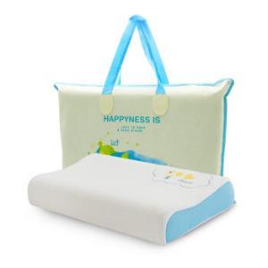 睡眠博士(AiSleep)天然乳胶枕头 儿童学生枕泰国进口90%天然乳胶含量 宾果狗99.5元