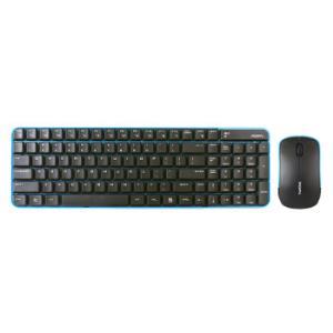 摩天手(Mofii)X190 无线键盘鼠标键鼠套装办公 USB笔记本电脑套件薄 蓝黑39元
