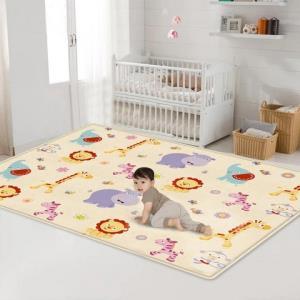 蓓臣婴儿爬行垫爬爬垫儿童户外玩具野餐垫送收纳袋19.9元