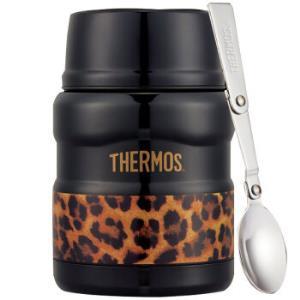 THERMOS 膳魔师 SK-3000 不锈钢保温罐 470ml 豹纹黑 *2件 261.44元含税包邮(合130.72元/件)