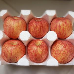 出口果  烟台栖霞红富士苹果 果径85以上 特级果约3kg59.9元