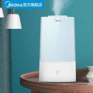 美的加湿器家用静音大容量卧室办公室室内空气香薰机小型孕妇婴儿159元