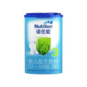 Nutrilon 诺优能 3段幼儿配方奶粉800克 12-36个月 *4件