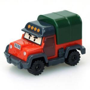 Silverlit 银辉 珀利POLI 汽车玩具 动漫周边 波契吉普车 *8件 292元(合36.5元/件)