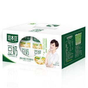 SOYMILK 豆本豆 原味豆奶 250ml*15盒 21.42元(下单立减)