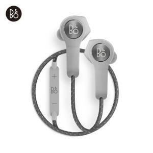 B&O PLAY H5 无线蓝牙磁吸断电入耳式音乐手机耳机 浅灰色 bo耳机 白敬亭限量版1398元