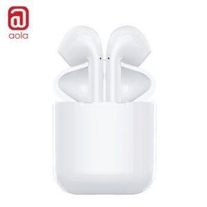 澳浪(aola) 蓝牙耳机 5.0无线苹果air运动pods立体声iPhoneXs/8/7P华为小米安卓手机tws迷你入耳式 BES20X 白100元