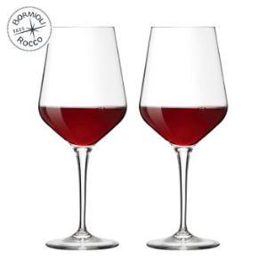 波米欧利意大利进口红酒杯葡萄酒杯高脚杯 440mL*2支装 *2件122元(合61元/件)