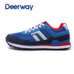 德尔惠男鞋复古跑步鞋运动跑鞋透气运动鞋新款舒适耐磨慢跑鞋69元