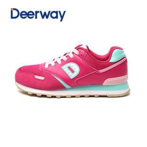 德尔惠女鞋春秋季复古跑步鞋新款女士运动鞋休闲慢跑鞋旅游鞋49元