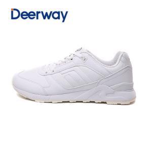 德尔惠男棉鞋运动男跑步鞋春新款复古耐磨减震男子休闲慢跑鞋49元