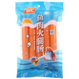 双汇火腿肠 海鲜味香肠火腿 鱼肉肠 50g*5支装7.6元