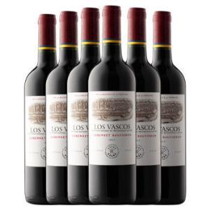 智利进口红酒 拉菲(LAFITE)巴斯克卡本妮苏维翁红葡萄酒 整箱装 750ml*6瓶(ASC) *2件656元(合328元/件)