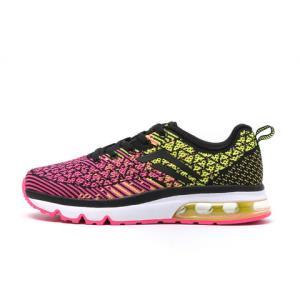 德尔惠女鞋秋季新款运动鞋女跑步鞋飞线旅游鞋女士气垫慢跑鞋49元