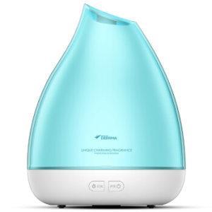 德尔玛(Deerma)加湿器 香薰机 迷你家用插电 卧室办公室精油香薰灯 灯光按键 DEM-XS11109元