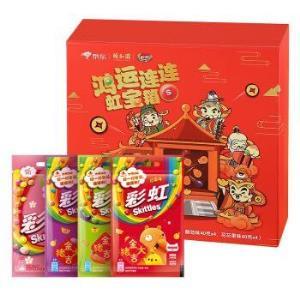彩虹糖×颐和园 福禄寿喜财年货大礼盒 四种口味 各4袋 660g *3件 69.7元(双重优惠)