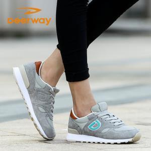 德尔惠女鞋运动鞋女秋冬季跑步鞋透气女鞋复古慢跑鞋潮学生女跑鞋49元