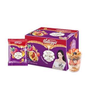 Kellogg's 家乐氏 谷兰诺拉 什锦水果谷物 草莓口味 490g *6件 99.6元包邮(多重优惠)