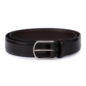 CANALI 康纳利 男士深棕色皮革针扣皮带腰带 50 KA00159 510 105 *3件5186元(合1728.67元/件)