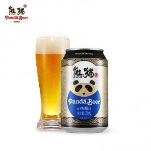 69元整箱德邦入户!国宝级 熊猫王精酿啤酒 12度 330mlx24听 领50元优惠券(折合2.88/听)
