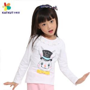 Katkut 咔酷德 女童长袖打底衫19.9元