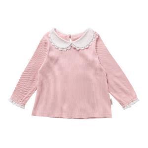 Oissie 奥伊西 1-7岁女宝宝纯色翻领弹力打底衫女童长袖T恤 *3件99元(合33元/件)