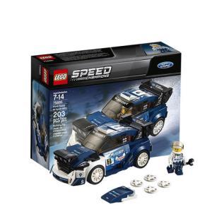 LEGO 乐高 超级赛车系列 75885 福特嘉年华M-Sport车队世界拉力锦标赛赛车99元包邮包税(需定金10元)