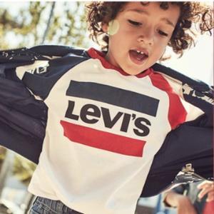 !Levis李维斯 童装男童长袖卫衣 复古系列撞色拼接(105-150cm) 领70元优惠券 多款可选99元包邮