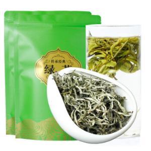2019年春茶 云南绿茶新茶毛尖嫩芽浓香型茶叶 银丝绿茶500g散装250g*2袋65元(需用券)