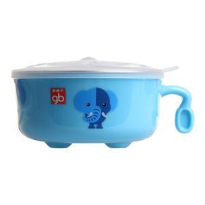 gb好孩子儿童双层隔热不锈钢餐碗*5件