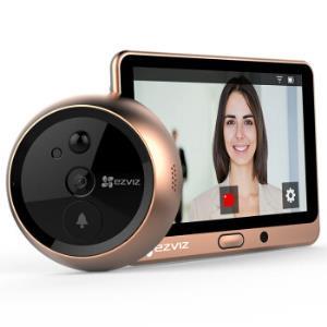 萤石DP1(棕色) 智能猫眼 摄像头 电子猫眼 可视门铃 防盗门监控 海康威视旗下品牌669元