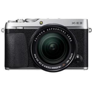FUJIFILM富士X-E3(18-55mmf/2.8-4)APS-C画幅无反相机套机银色/灰色    5459元(需用券)