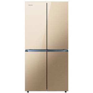 限湖北:KONKA康佳BCD-330BX4S十字对开门冰箱330升1399元包邮