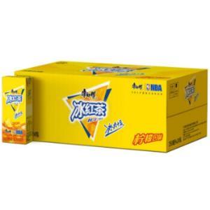 限地区:康师傅 冰红茶 柠檬红茶饮料 250ml*24盒*2件