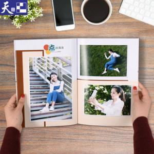 天意 纪念相册制作宝宝纪念照片书定制diy宝宝儿童成长对裱纪念册 券后6.9元