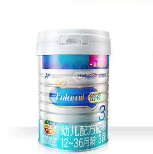 MeadJohnson Nutrition 美赞臣 铂睿 幼儿配方奶粉 3段 850克 *2件 330元(合165元/件)