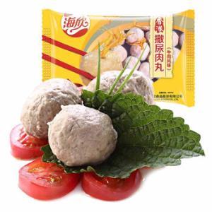 海欣香港撒尿肉丸500g牛肉风味烧烤火锅食材火锅丸子速食料理其他*2件 25.9元(合12.95元/件)