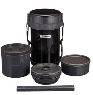 ZOJIRUSHI象印SL-XE20-AD不锈钢保温便当盒黑色2L    224.62元
