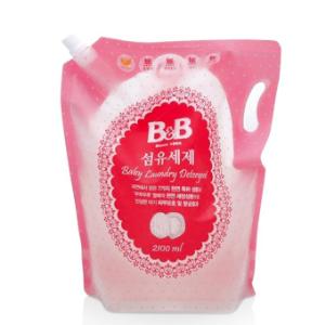 19日10点:B&B保宁婴幼儿洗衣液补充装2100ml*5件 144元(合28.8元/件)
