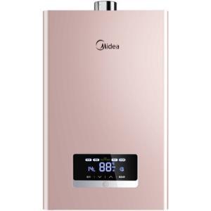 美的(Midea)16升燃气热水器 安全防护 水气双调恒温 智能随温感 三档变升 JSQ30-G4(天然气) 1699元